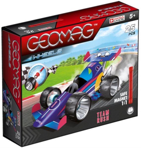 Magnetická stavebnice GEOMAG - Wheels 712 - Formule (modrá)