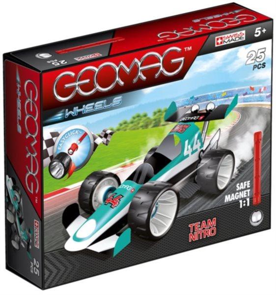 Magnetická stavebnice GEOMAG - Wheels 711 - Formule (zelená)