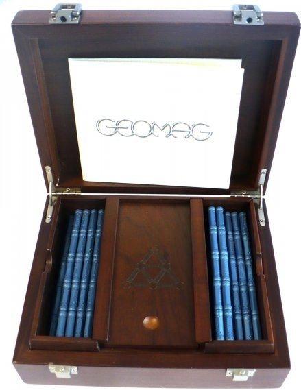 Magnetická stavebnice GEOMAG - Wooden Box 350 dílků