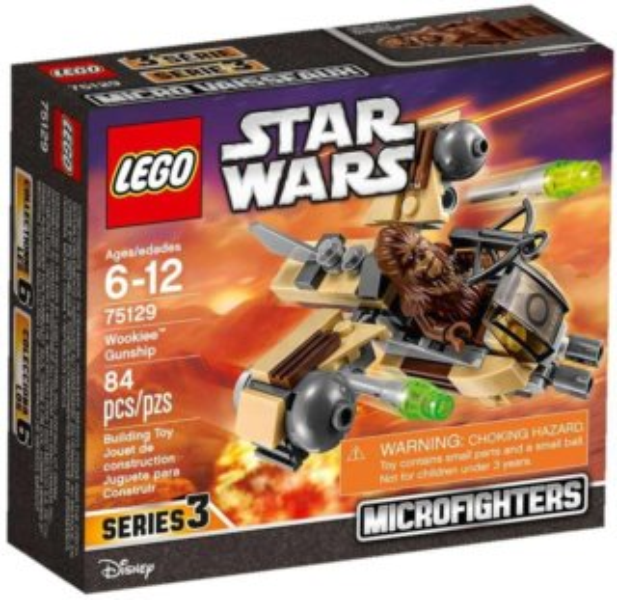Stavebnice LEGO® Star Wars 75129 Wookieská válečná loď