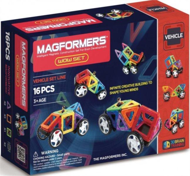 Magnetická stavebnice MAGFORMERS Wow Starter 16 dílků