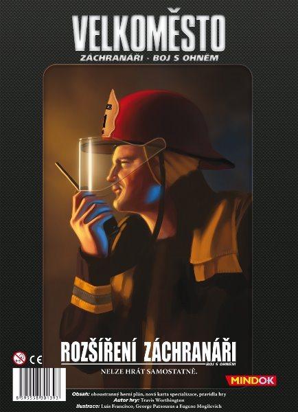 Společenská hra Záchranáři: Velkoměsto (rozšíření), MINDOK