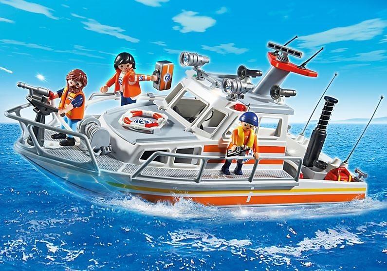 poškozený obal: Playmobil 5540 Záchranný člun