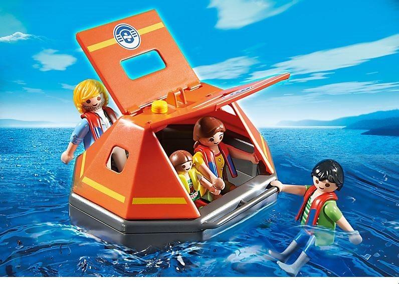 poškozený obal: Playmobil 5545 Záchranný modul