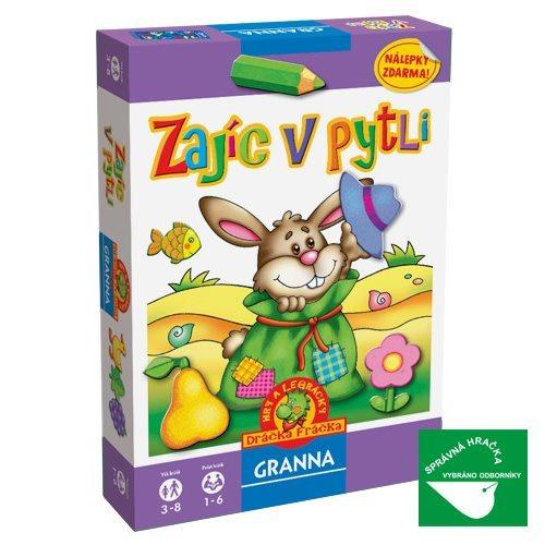 Vzdělávací hra GRANNA Zajíc v pytli
