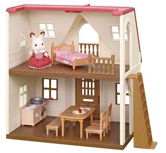 SYLVANIAN FAMILIES Základní patrový dům s červenou střechou 5303
