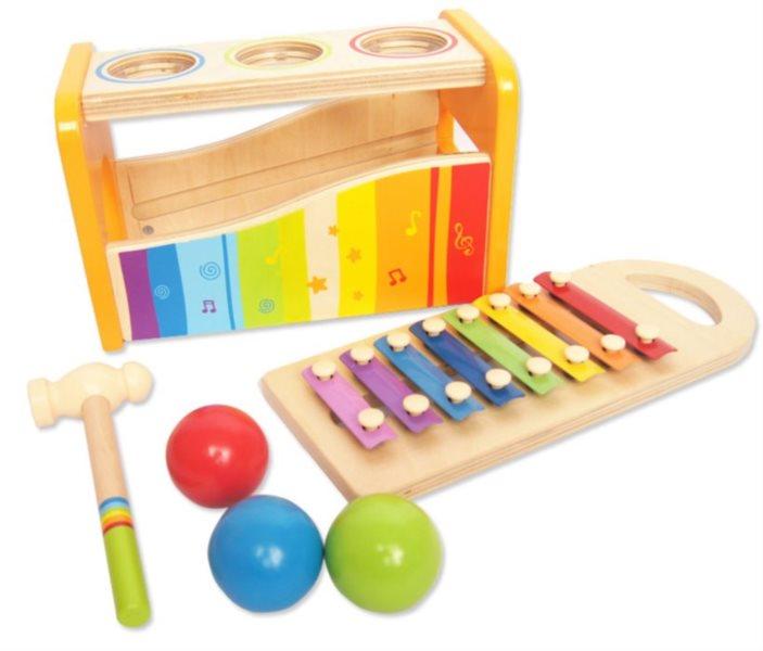 Zatloukačka s xylofonem