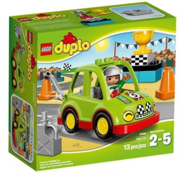 Stavebnice DUPLO® 10589 Závodní auto