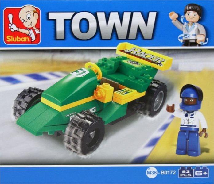 SLUBAN Závodní vůz