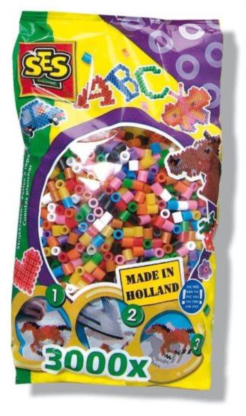 SES Zažehlovací korálky - barevné 3000 ks