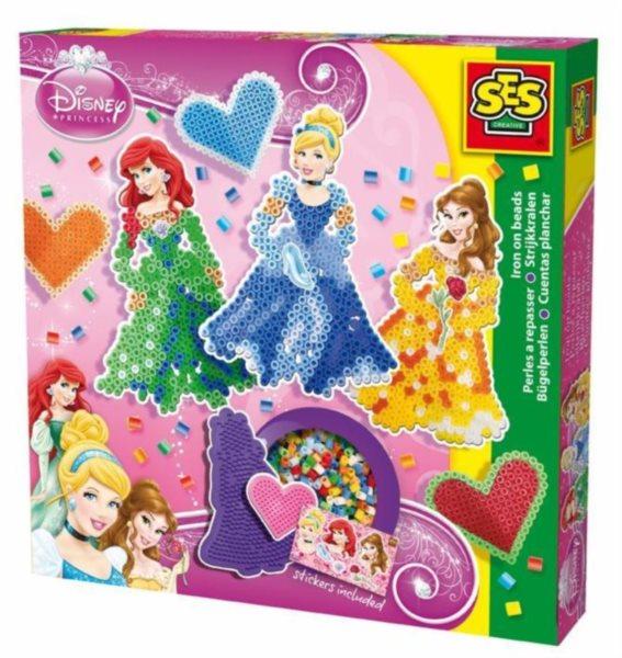 SES Zažehlovací korálky - Disney princezny