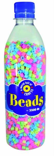 PLAYBOX Zažehlovací korálky - pastelové barvy 3500 ks