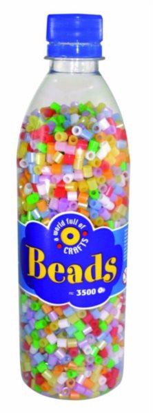 PLAYBOX Zažehlovací korálky - perleťové barvy 3500 ks