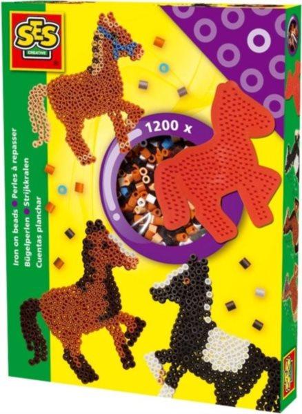 SES Zažehlovací korálky - sada Koně