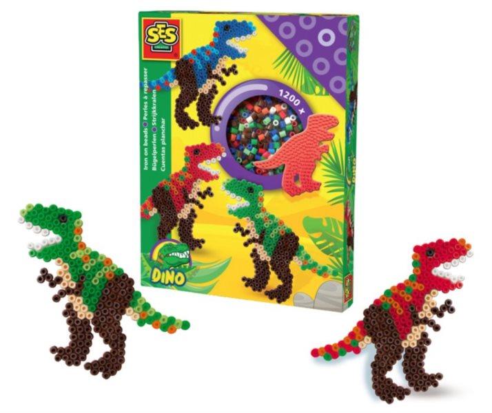 SES Zažehlovací korálky - sada T-Rex
