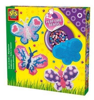 Zažehlovací korálky voňavé - sada Motýlek