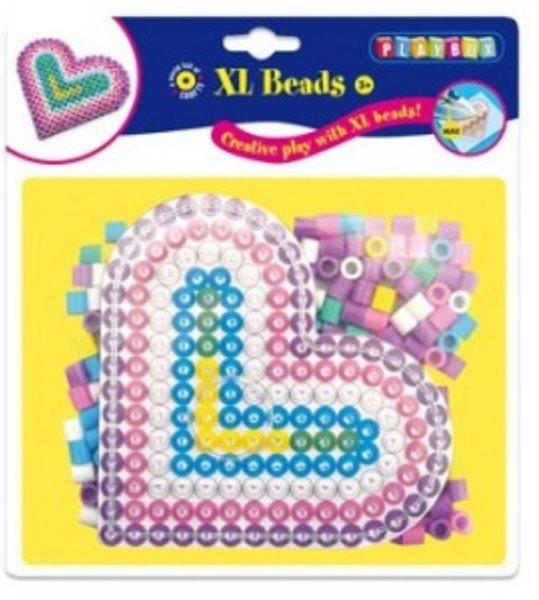 PLAYBOX Zažehlovací korálky XL - Srdce