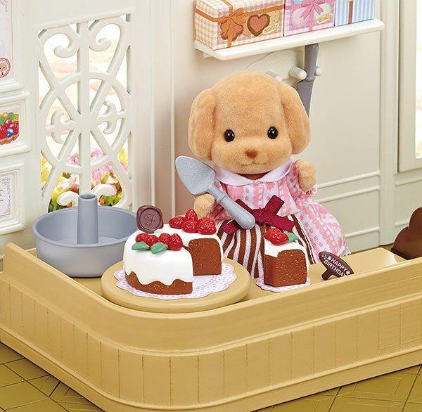 Sylvanian Families 5264 Zdobení dortů s pejskem