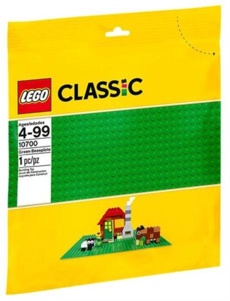 Stavebnice LEGO® Zelená podložka na stavění 10700