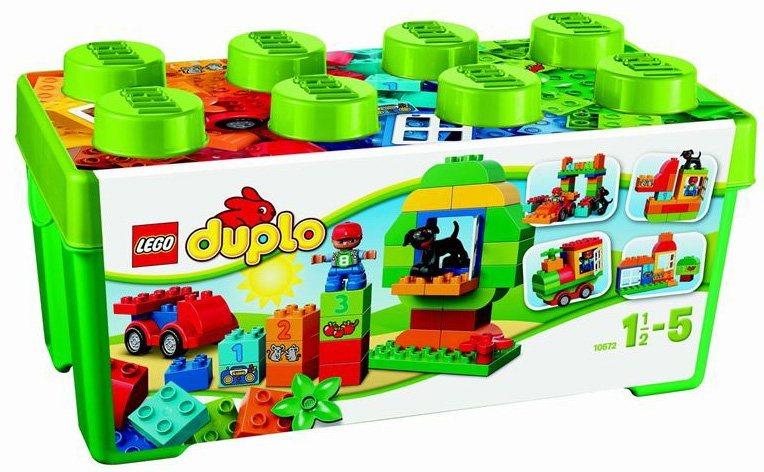 Stavebnice LEGO® DUPLO®10572 Zelený box plný zábavy
