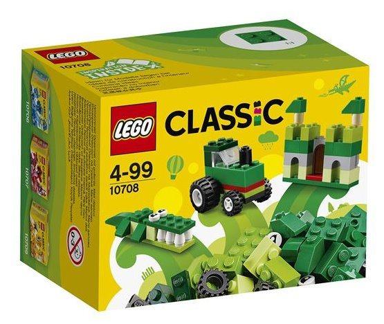 Stavebnice LEGO® Classic 10708 Zelený kreativní box