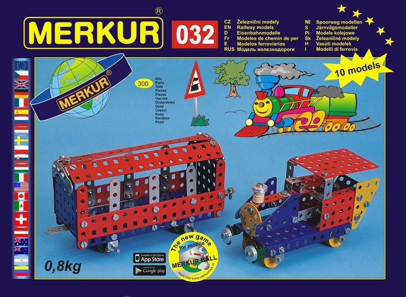 Stavebnice MERKUR - Železniční modely M032