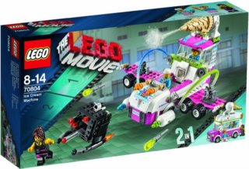 Stavebnice LEGO® Movie 70804 Zmrzlinářský stroj