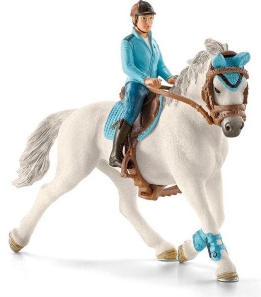 SCHLEICH 42111 Žokej na koni