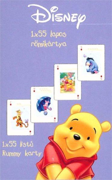 Dětské hrací karty Medvídek Pú 55 listů, PIATNIK