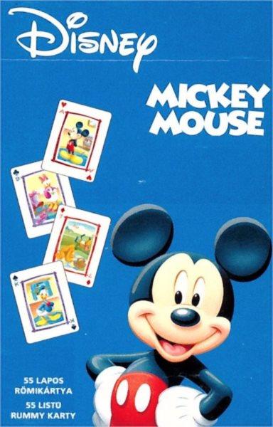 Dětské hrací karty Mickey Mouse 55 listů, PIATNIK