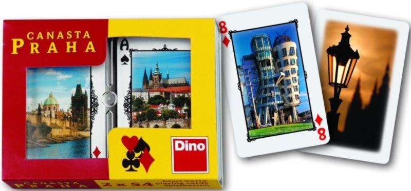 Hrací karty Žolík (Kanasta) - Praha, DINO