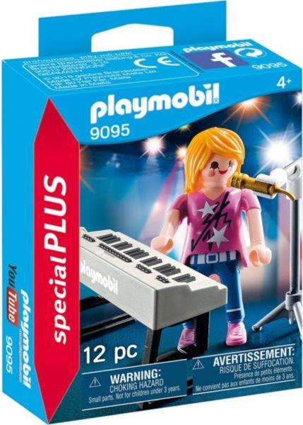 PLAYMOBIL Zpěvačka u klavíru 9095