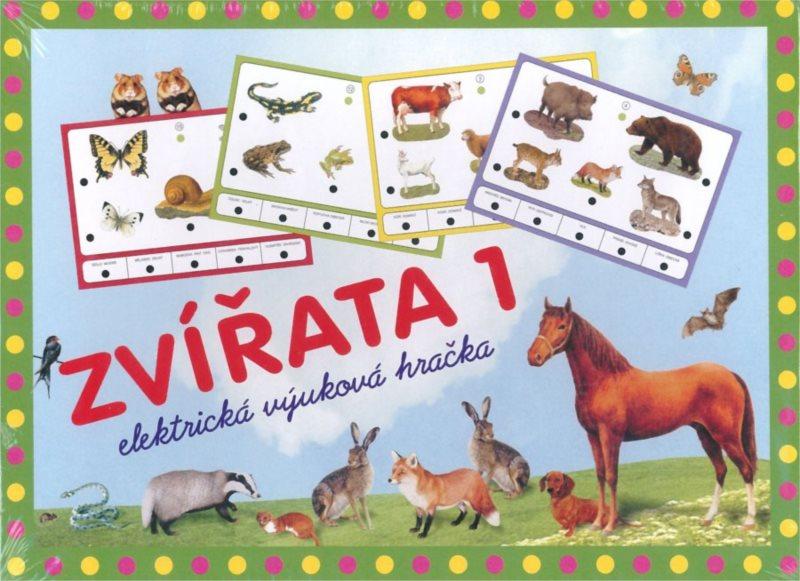 Elektronická kombinační hra pro děti - Zvířata 1