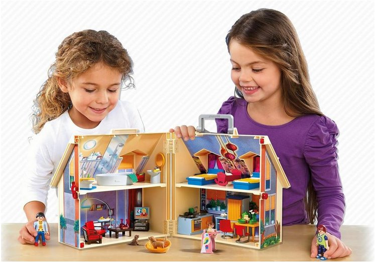 Playmobil 5167 p enosn d m pro panenky stavebnice - Toute les maison playmobil ...