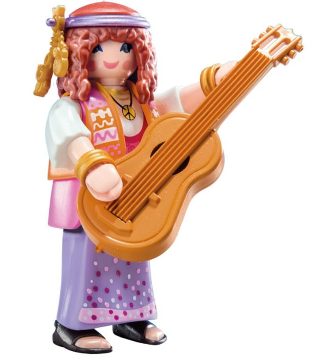 Playmobil 9147 Figurky pro holky - Hippies (série 11)  2b6ff7d235