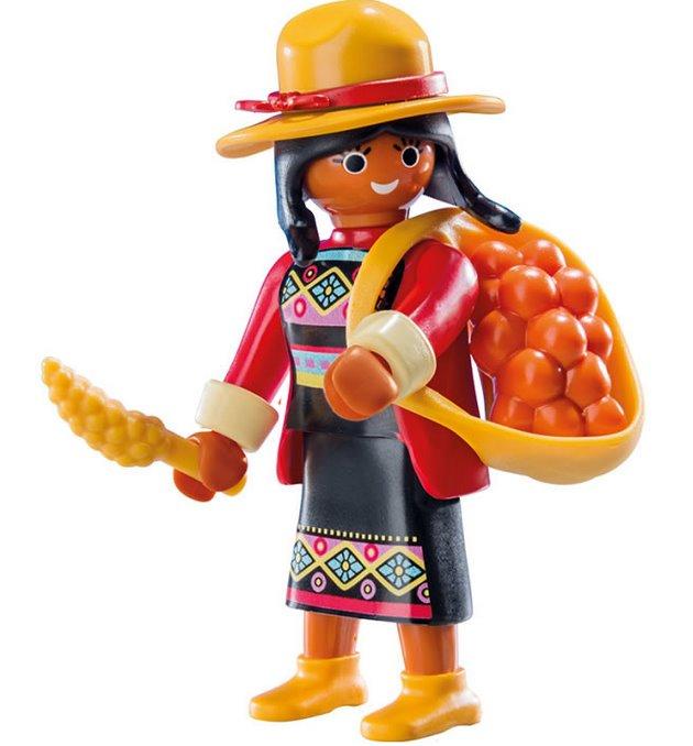 Playmobil 9147 Figurky pro holky - Indiánka (série 11)  dc892e2a9a