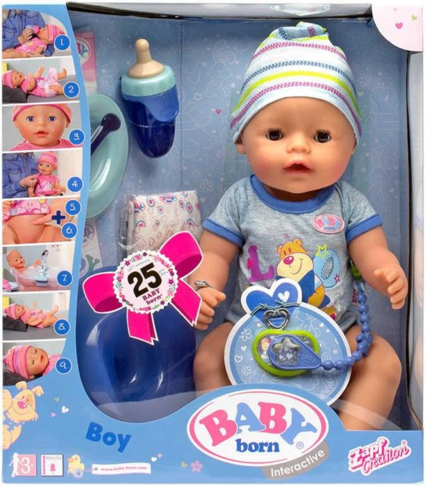 Baby Born Interaktivn 237 Baby Born Chlapeček Stavebnice