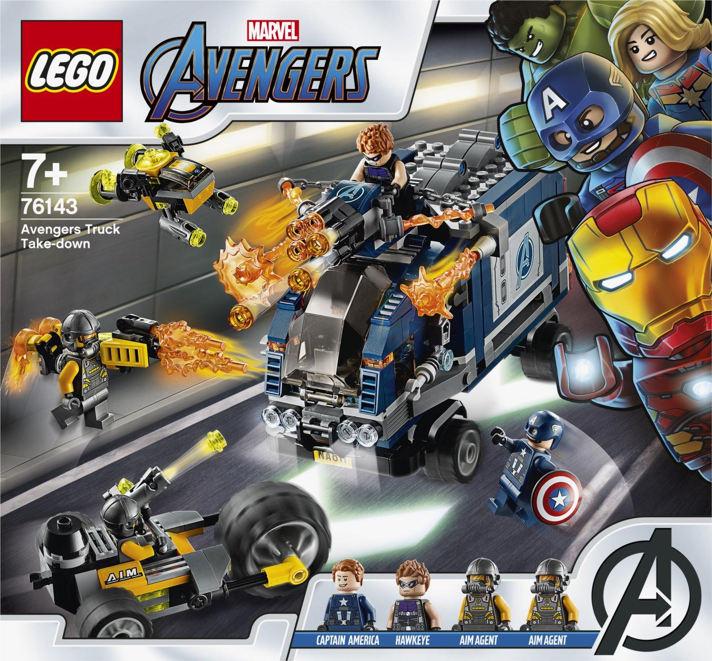 LEGO® Marvel Avengers 76143 Avengers: Boj o náklaďák - Stavebnice-hry.cz