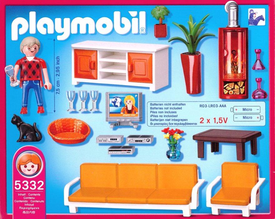 Playmobil 5332 ob v k stavebnice - Playmobil wohnzimmer 5332 ...