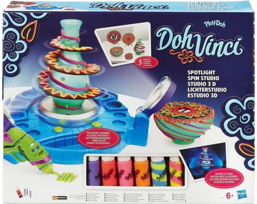 1d1782548 Play-Doh: DohVinci Dekorační studio | Stavebnice-hry.cz