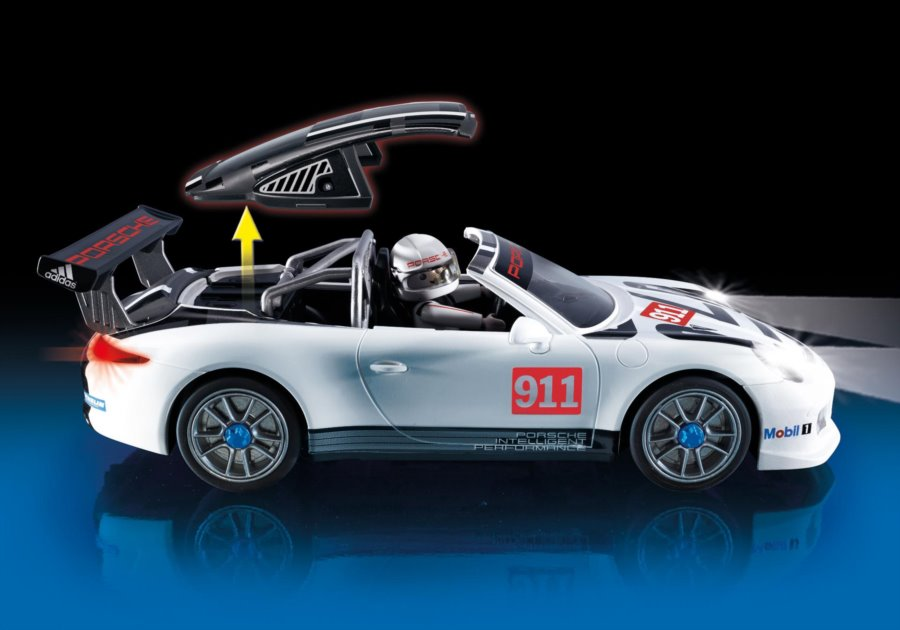 playmobil porsche 911 gt3 cup 9225 stavebnice. Black Bedroom Furniture Sets. Home Design Ideas