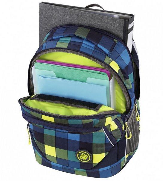 COOCAZOO Školní batoh EvverClevver modrozelený  c215528699