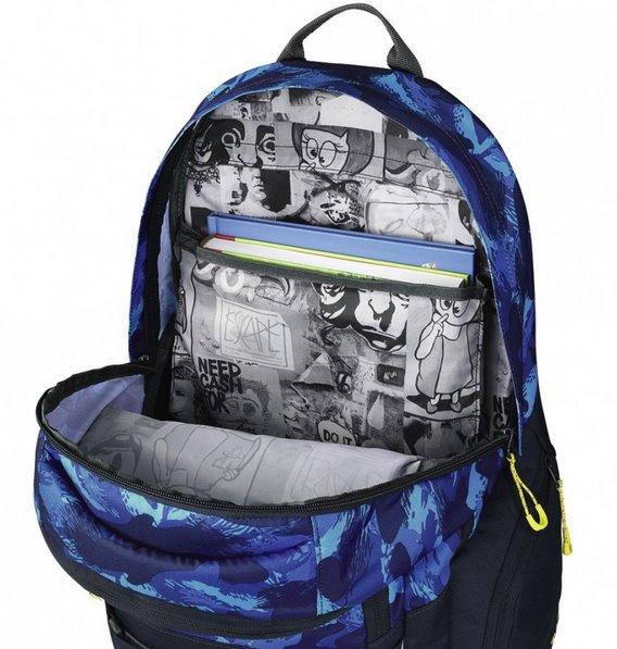 9e7cd407c83 COOCAZOO Školní batoh CarryLarry modrý