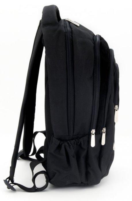 ARS UNA Školní batoh Real Madrid černý  0f865ce086