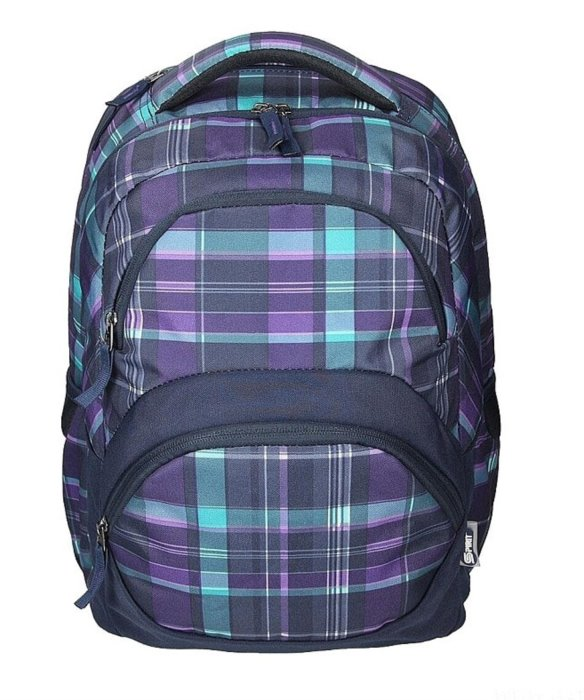 SPIRIT Školní batoh FREEDOM fialový  3adeb915a8
