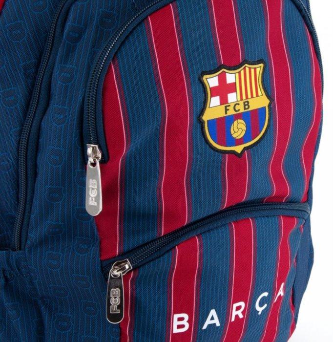 ARS UNA Školní batoh FC Barcelona pruhy  98d8c7a7a3