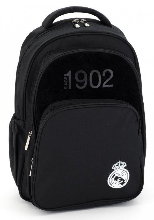 e3863f5bbea ARS UNA Školní batoh Real Madrid Black 3K