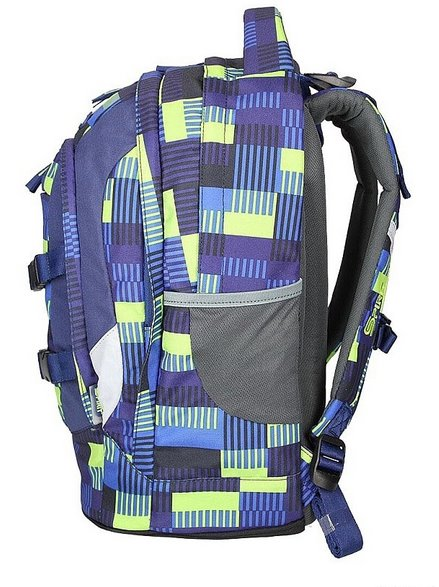 SPIRIT Školní batoh URBAN modrý  d41491c003