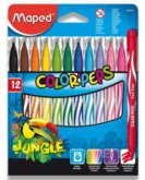 Fixy Color'Peps Jungle 12ks