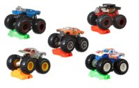 Hot Wheels Monster Trucks - Kaskadérské kousky 1 ks (mix)